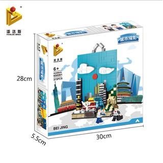 Bộ xếp hình Panlos 656001 Thành phố Bắc Kinh – 373 chi tiết