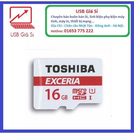 THẺ NHỚ 16GB TOSHIBA EXCERIA MICRO SDHC CLASS 10 48MB/S