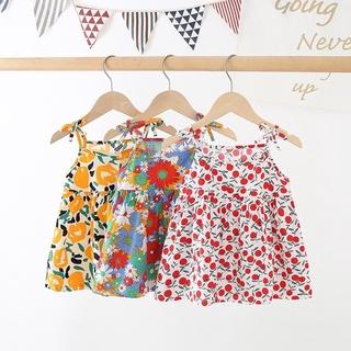 Váy bé gái 2 dây thô hoa nhiều hoạ tiết [ XƯỞNG THỜI TRNAG GIÁ GỐC] thumbnail