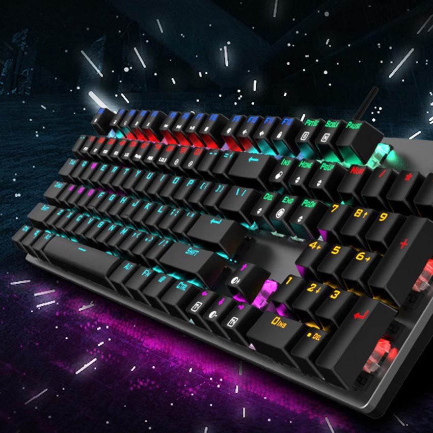 [Mã 267ELSALE hoàn 7% đơn 300K] Bàn phím cơ led RGB K-913
