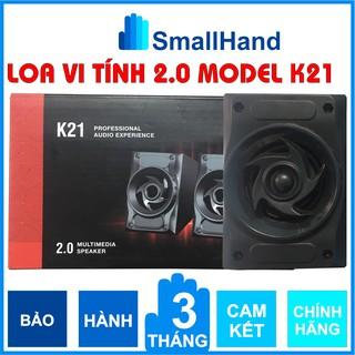 Model K21 Multimedia Speaker 2.0 Loa vi tính 2.0 nhập khẩu Bảo hành 3 tháng thumbnail
