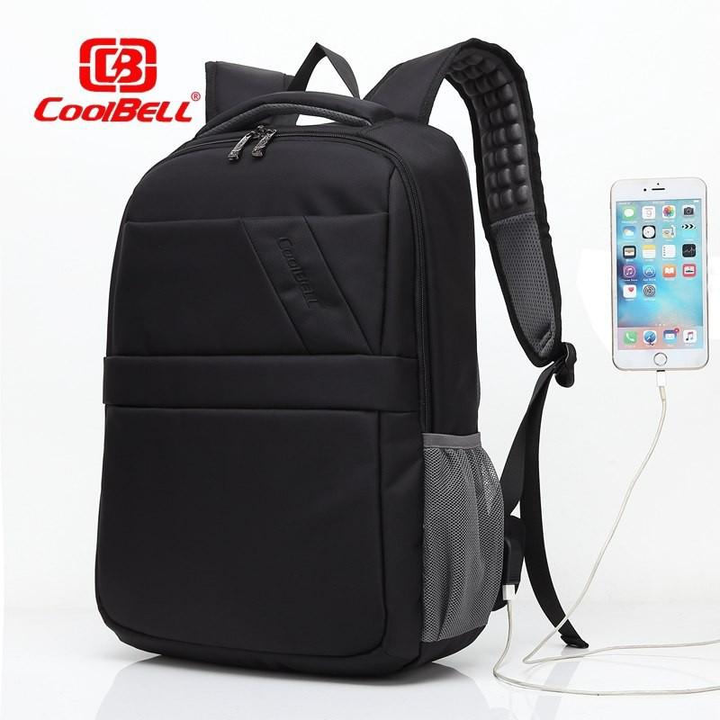 Balo Laptop Chống Nước Cao Cấp 15 Inch Chính Hãng Coolbell CB2669