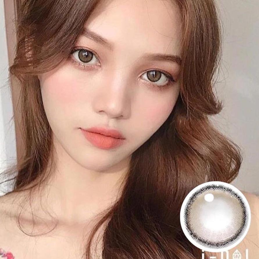Kính mát gọng nâu phong cách công chúa Idol Roze