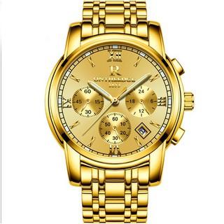 Đồng hồ nam dây thép đặc 6 kim cao cấp Ontheedge thumbnail