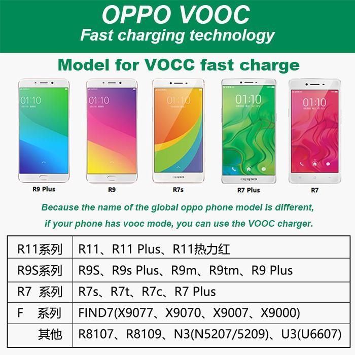Dây cáp sạch nhanh VOOC 5A cho Oppo