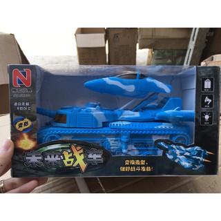 [HÀNG ĐẸP GIÁ TỐT]đồ chơi cho bé – Xe tăng biến hình tên lửa