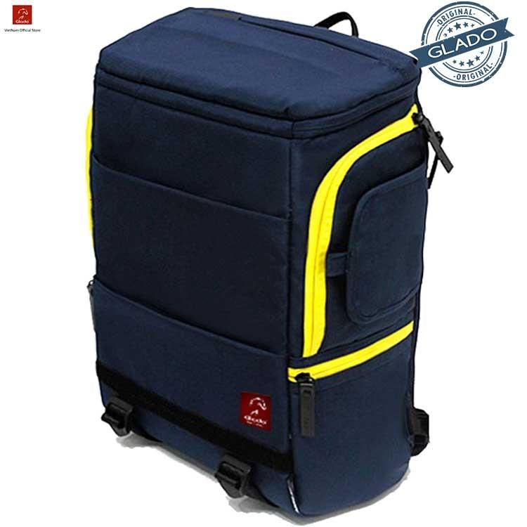 Balo laptop Glado cylinder BLC001 (Xanh) - Hãng Phân Phối Chính Thức