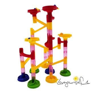 ♛loveyourself1♛-Initiation Toy for Kids Marble Race Track Marble Track Building Block Parent-child Game
