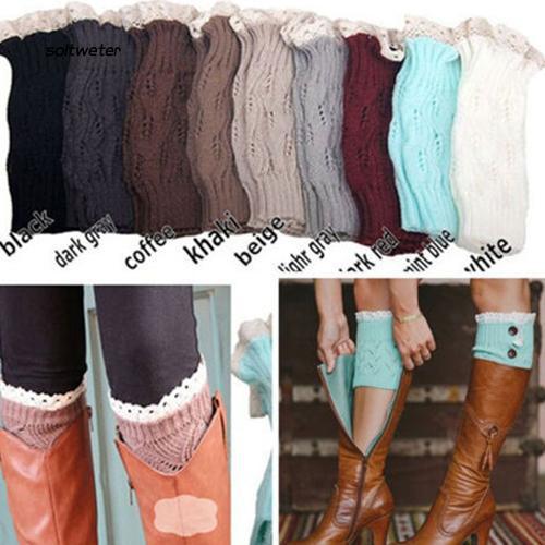 Vớ ống len giữ ấm chân dùng khi mang giày boot