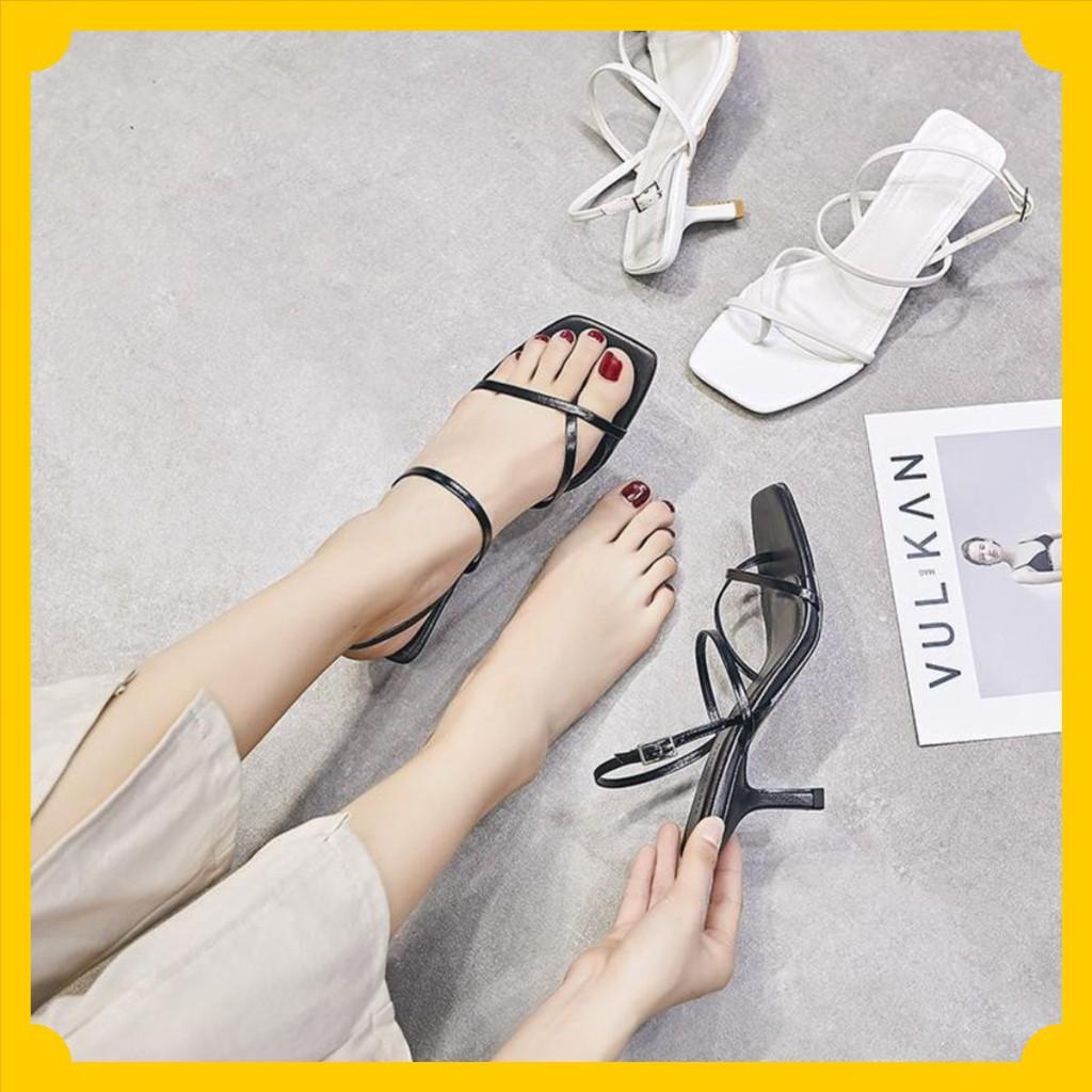 Giày nữ S11 quai mảnh gót nhọn cao 5 phân