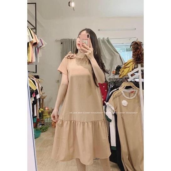 Mặc gì đẹp: Dễ chịu với Đầm bầu công sở suông thời trang