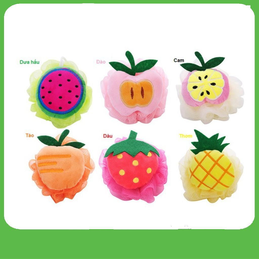 [SHIP NHANH]  Bông tắm tạo bọt trái cây