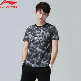 [FREE SHIP 299K+Big Size]Áo Phông Cotton Nam LINING AHSN503- Chính Hãng thumbnail
