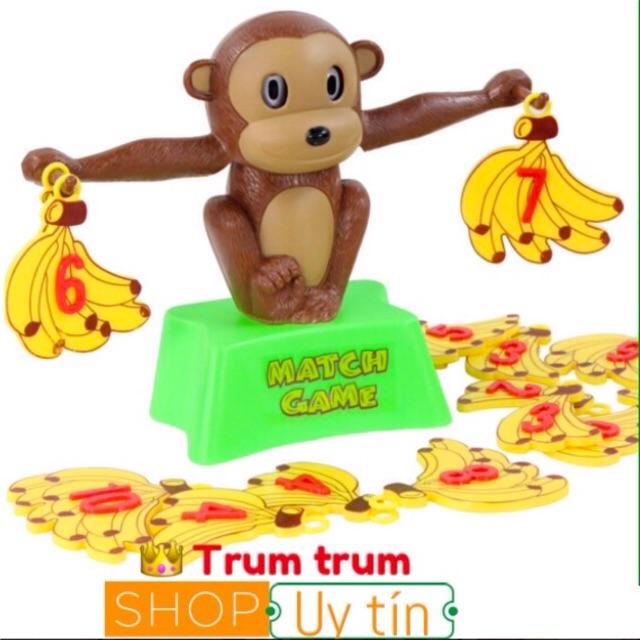 khỉ con học toán- monkey match game
