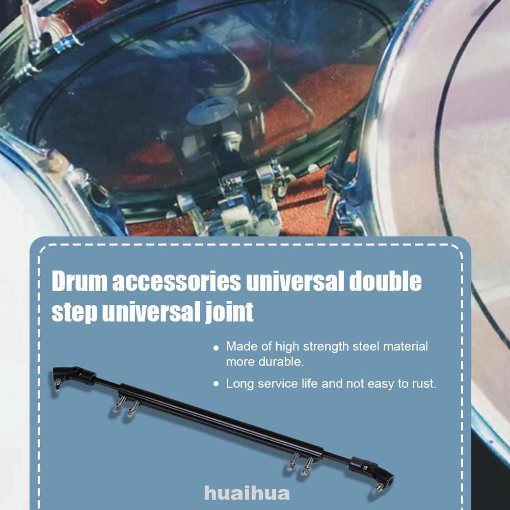 Tool Steel Bass Replacement Universal Double Pedal Drum Parts Driveshaft Rod