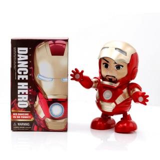 [ready stock] Marvel Heroes Avengers Iron Man sẽ nhảy robot
