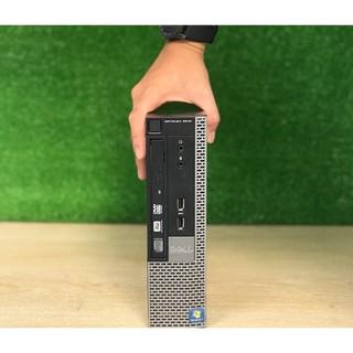 Case Máy Tính Dell Mini Optiplex 7010 HP mini Core I7 Core I5 Core I3 Kích thước siêu nhỏ gọn - Tặng USB thu wifi thumbnail