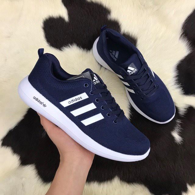 Giày Adidas nam - giày thể thao nam (xanh than)
