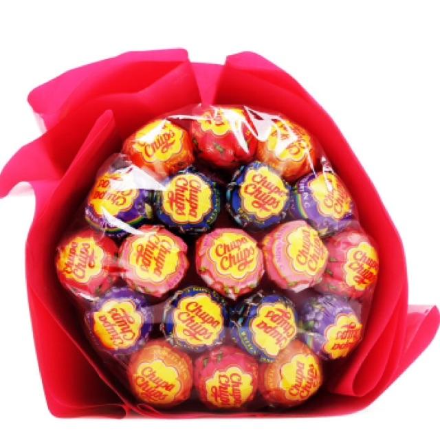 Bó hoa kẹo mút 19 cây - 2494500 , 292273795 , 322_292273795 , 68000 , Bo-hoa-keo-mut-19-cay-322_292273795 , shopee.vn , Bó hoa kẹo mút 19 cây