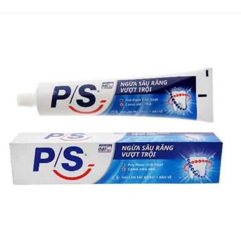 Kem đánh răng PS ngừa sâu răng vượt trội 110g-180g