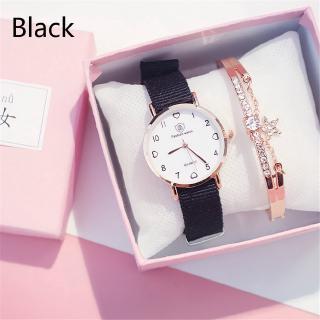 Đồng hồ đeo tay kiểu dáng retro đơn giản phong cách Hàn Quốc cho nữ