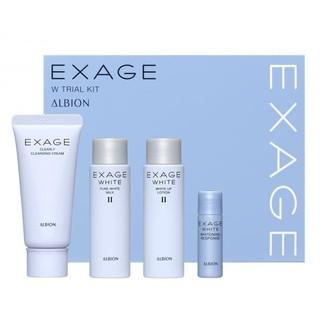 ALBION - Bộ EXAGE WHITE trắng da ( dùng thử ) thumbnail