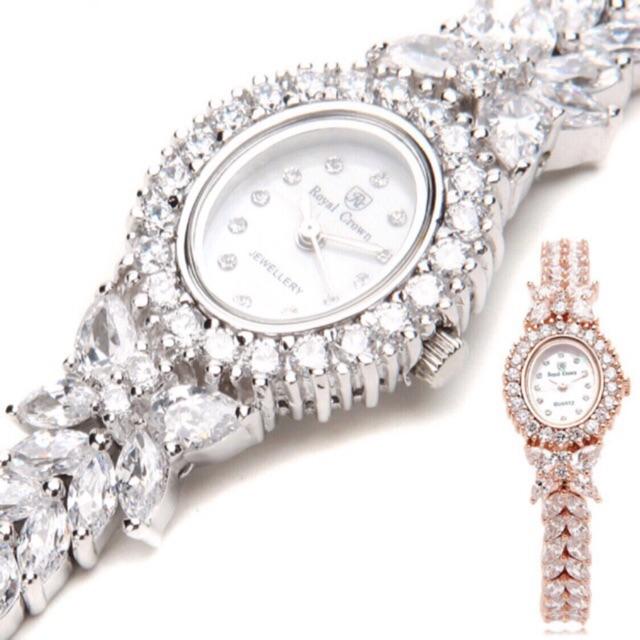 [HOT DEAL]Combo 2sp Đồng Hồ Nữ Chính Hãng Royal Crown 2527/9246 kèm sản phẩm chọn theo combo tại phân loại
