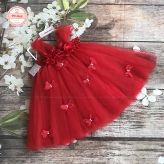 Đầm tutu cho bé ❤️FREESHIP❤️ Đầm tutu đỏ cho bé gái