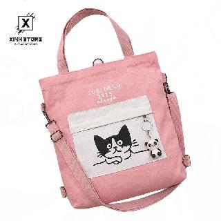 Túi Vải Tote XinhStore Hình Mèo thumbnail