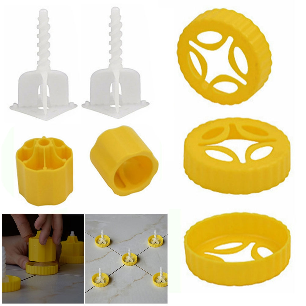 Decorating Easy Use Quick Positioning Garden Ceramic Nut Type Aid Floor Wall Tile Leveling Tool