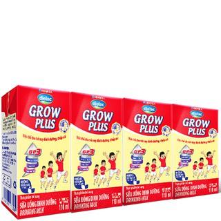 SỮA BỘT PHA SẴN DIELAC GROW PLUS 110ML - LỐC 4 HỘP X 110ML thumbnail