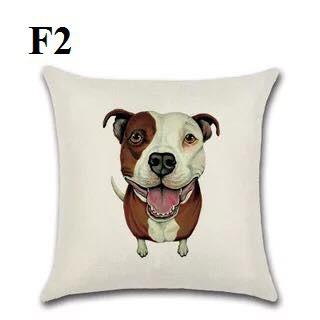Gối vuông - Gối Tựa - Gối văn phòng - Gối Trang Trí- Gối tựa lưng sofa hình chó dễ thương