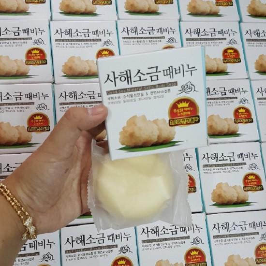 Xà phòng Muối -> tẩy da chết 100g từ Hàn Quốc