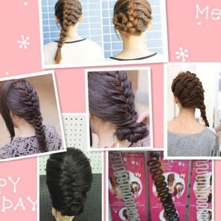 [XẢ KHO GIÁ SỐC] phụ kiện tóc-Khuôn tạo kiểu bện tóc nữ  | HÀNG MỚI