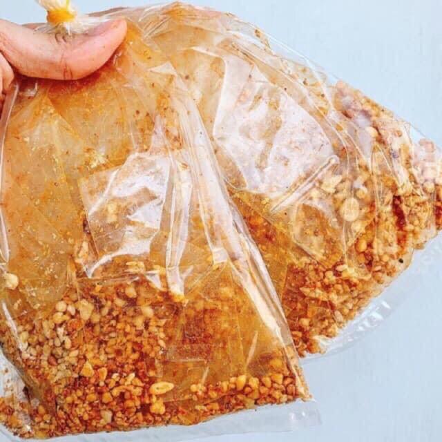Bánh tráng Xì ke Muối nhuyễn Tỏi ,Bánh Tráng Trộn SIÊU NGON