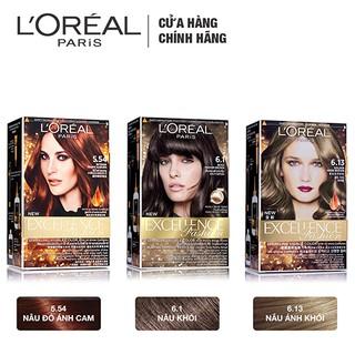 Hình ảnh Kem nhuộm dưỡng tóc màu thời trang L'Oreal Paris Excellence Fashion 172ml-2