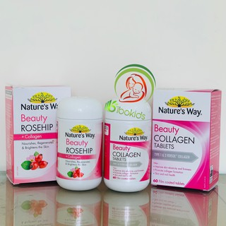 Viên uống collagen Nature s Way Beauty Collagen Booster thumbnail