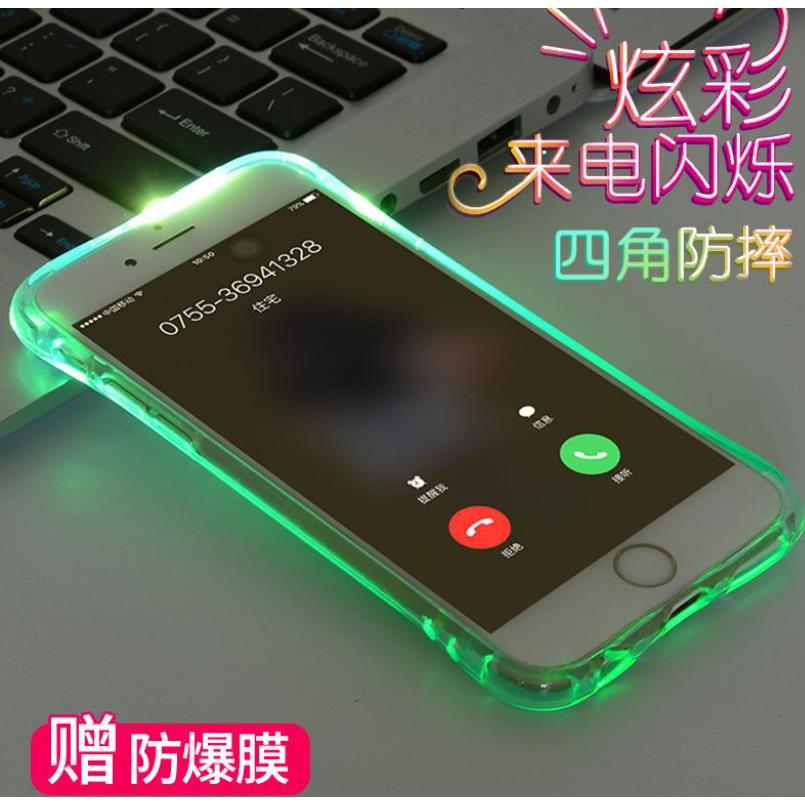 เคสโทรศัพท์มือถือแบบใสเรืองแสง