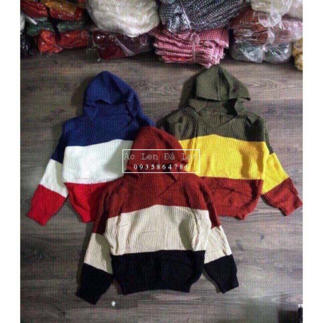 Áo len mũ 3 màu loại 1 sang chảnh [ Ảnh Thật ] [ Quảng Châu ] | WebRaoVat