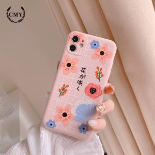Ốp iphone  Ốp lưng Iphone 11 Ốp lưng iphone  Ốp lưng silicon Ốp iphone 12 pro max Ốp iphone 12 mini Ốp điện thoại họa tiết hoa anh đào dành cho for iPhone11/11Pro 11pro Max X XR XS XS MAX 7 8 plus SE 12 pro max 12 mini
