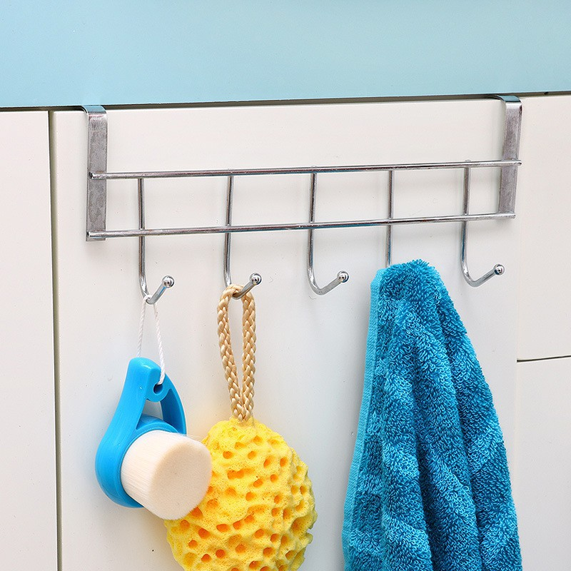 móc inox treo sau cánh cửa nhà tắm,tủ bếp để đồ cá nhân tiện dụng