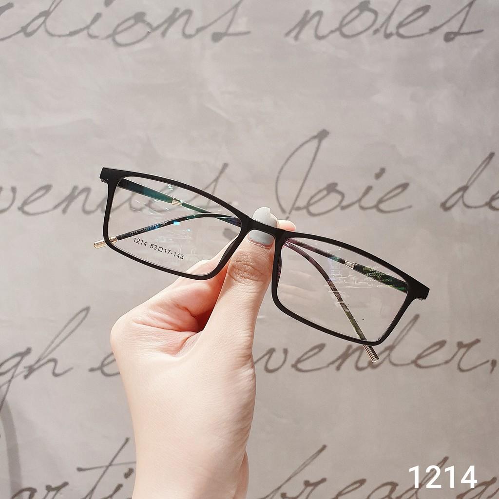 Gọng kính cận thời trang [Cắt kính mắt cận-loạn] Gọng cận 1214