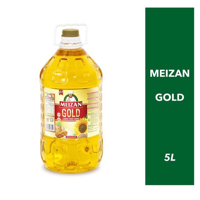 [Mã GRODAUAN8 giảm 10K đơn 99K] [Giao toàn quốc] Dầu ăn Meizan Gold 5L