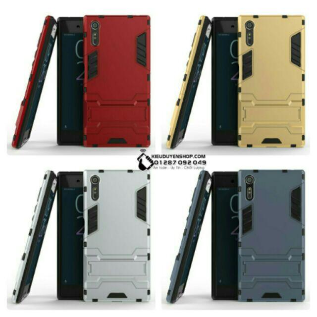 Ốp lưng Sony Xperia XZ,XZs chống sốc Iron Man