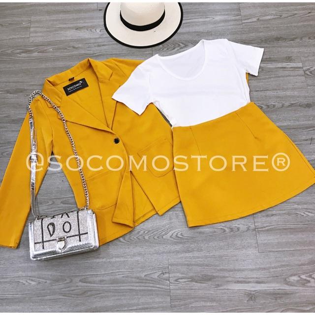 Set blazer 3 món màu vàng - 21981733 , 2244119329 , 322_2244119329 , 150000 , Set-blazer-3-mon-mau-vang-322_2244119329 , shopee.vn , Set blazer 3 món màu vàng