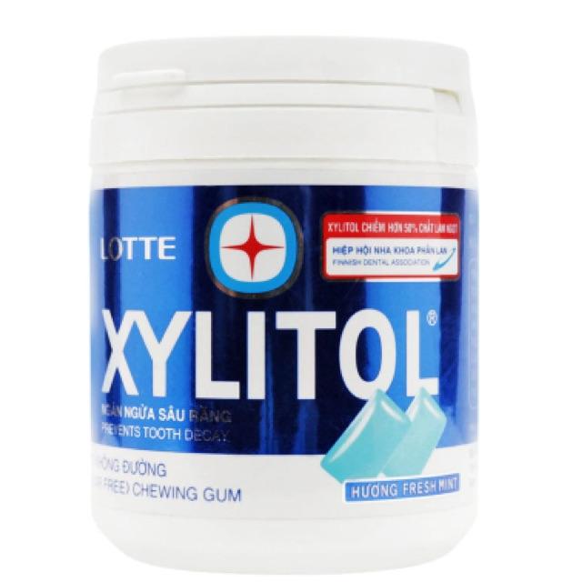 Kẹo gum không đường hương bạc hà Xylitol 145g - 2502574 , 391096035 , 322_391096035 , 75000 , Keo-gum-khong-duong-huong-bac-ha-Xylitol-145g-322_391096035 , shopee.vn , Kẹo gum không đường hương bạc hà Xylitol 145g
