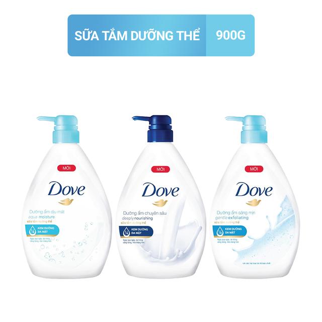 Sữa tắm dưỡng thể Dove 900gr