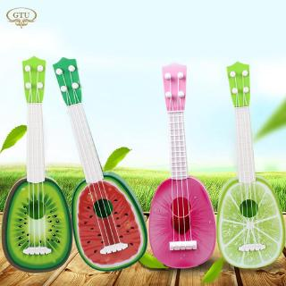 CR 4 Style Musical Ukulele Fruit Small Guitar Creative Ukelele Toy Cute Fruit Guitar