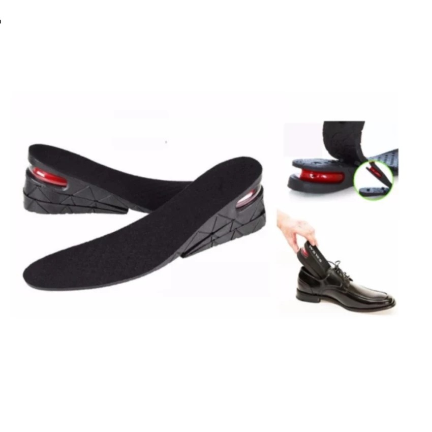 Bộ 2 Miếng Lót Giày Đệm Khí Tăng Chiều Cao Thêm 6cm