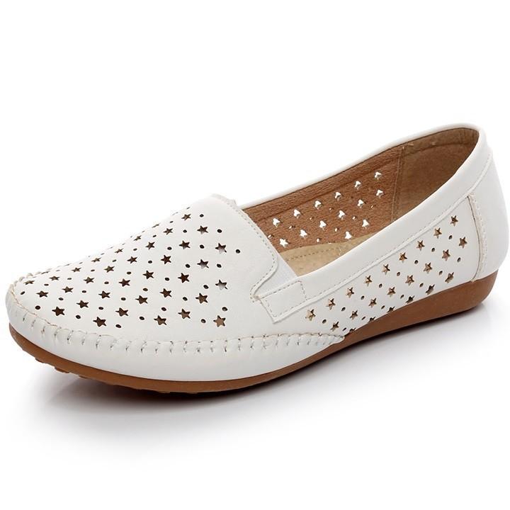 Giày lười da nữ thời trang cao cấp SP34